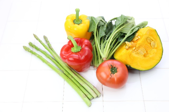 ビタミンカラーのある野菜たち