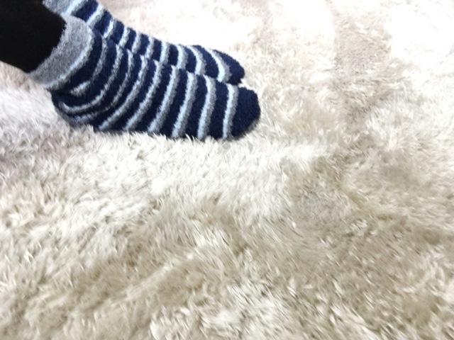 靴下と毛布