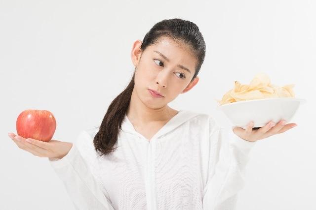 断食中の女性