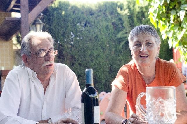 アメリカの老夫婦
