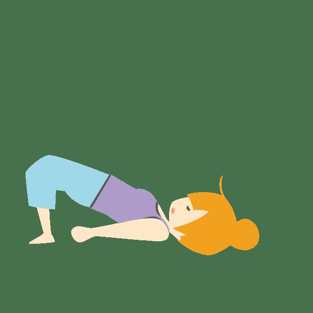 お尻を浮かす体操